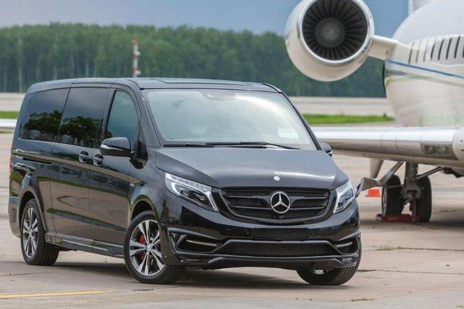 Granada airport private arrival transfer, Mercedes minivan