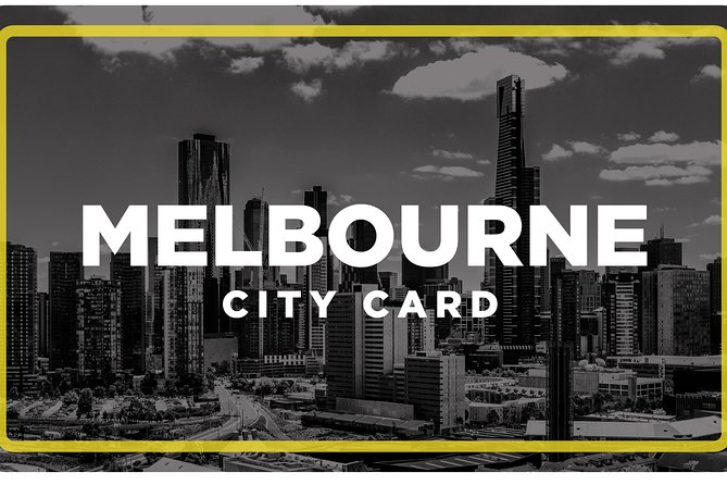 Melbourne City Card(3 Days): Visit Unlimted Attractions!