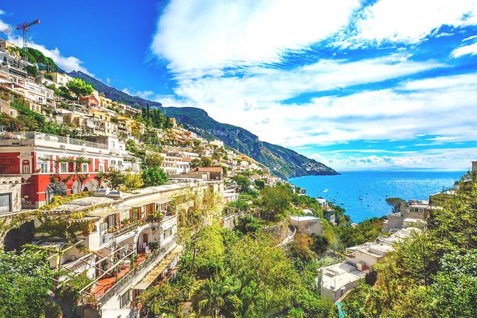 Tour of Pompeii & Amalfi Coast with Skip the Line & Pick Up from Naples Port