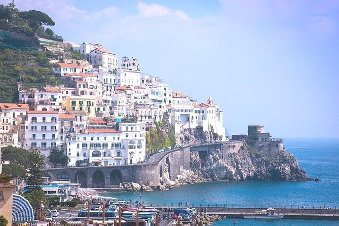 Tour of Pompeii & Amalfi Coast with Skip the Line & Pick Up from Salerno Port