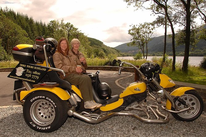 Edinburgh City Trike Tour with 2 Malt Whisky's for two people £190 Total
