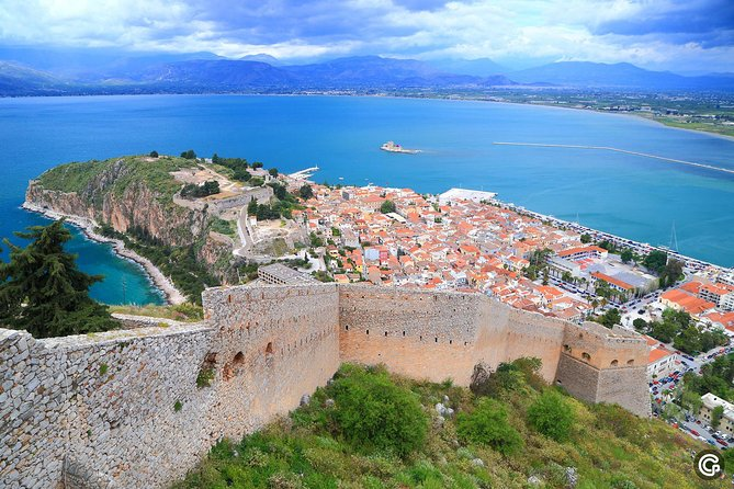 Private Nafplio city tour including a visit to the beach for Big groups