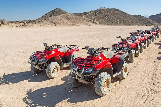 Quad Biking in the Egyptian Desert from Sharm el Sheikh photo 1