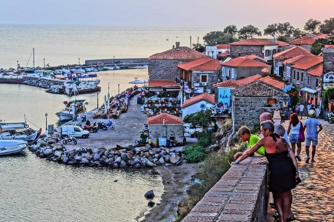 Transfer from Mytilene Airport to Molyvos,Petra,Anaxos with Minibus