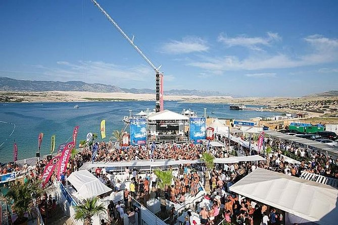 Transfer from Split to Novalja (Zrce party beach)