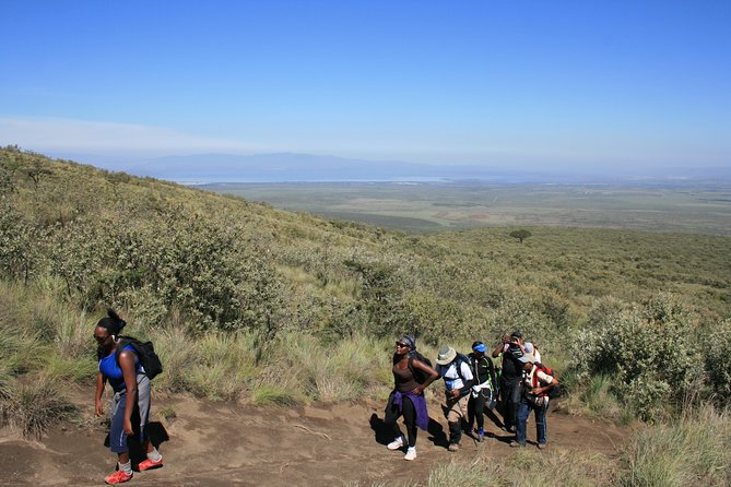 Mt. Longonot Hiking with a boat ride in lake Naivasha guided tour from Nairobi