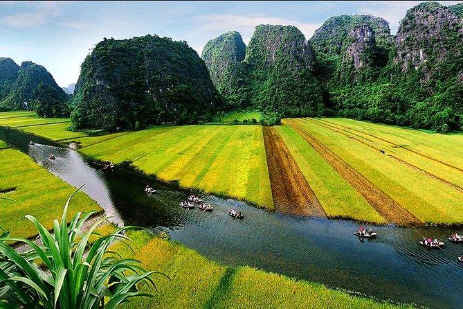 Hoa Lu Tam Coc full day tour from Hanoi