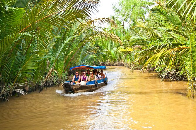 Mekong Delta Tour with Vinh Trang Pagoda, Rowing Boat Trip & Local Lunch