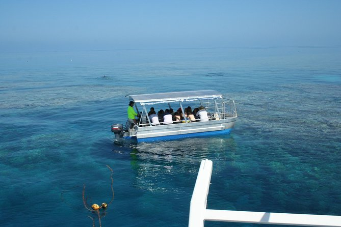 Seastar Luxury Outer Great Barrier Reef Island and Reef Tour from Cairns