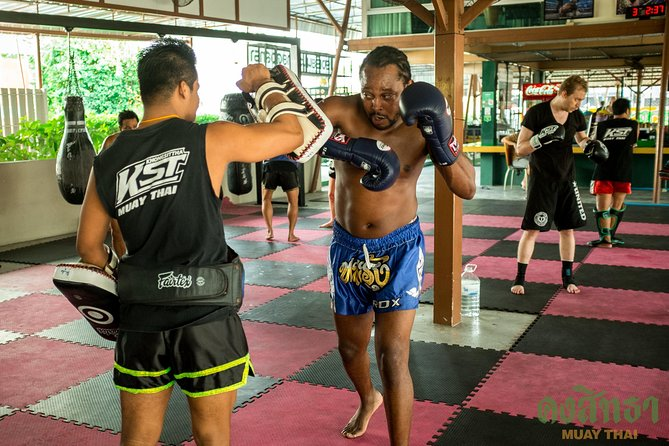 Muay Thai Lesson Led by Boxing Champion with Pad Thai photo 9