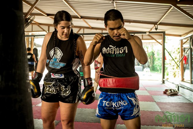 Muay Thai Lesson Led by Boxing Champion with Pad Thai photo 13