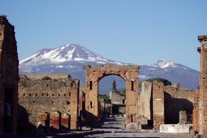 POMPEII & MT. VESUVIUS FD - from Sorrento