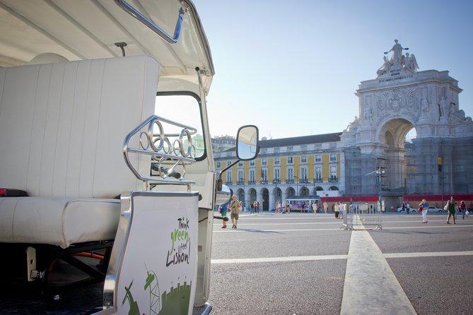 Lisbon: 2-Hour Go West to Belém Tour on an Private Electric Tuk Tuk