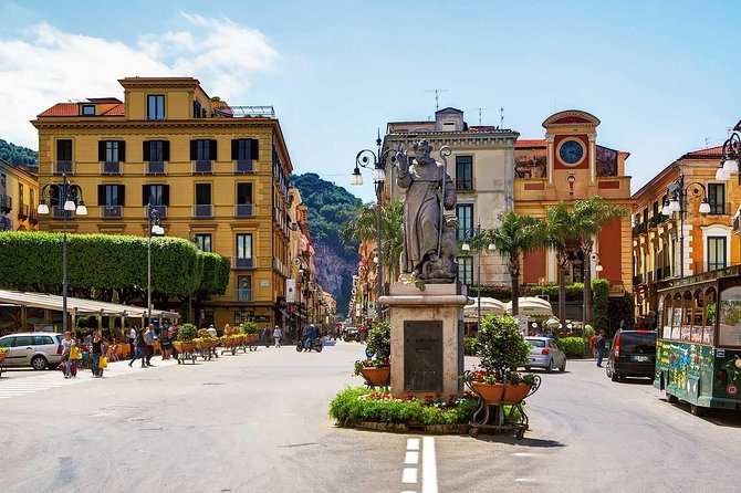 Tour of Sorrento-Herculaneum-WineTasting (FullDay 8h)