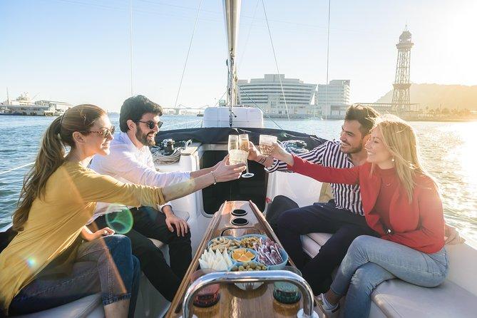 Barcelona Breakfast on the Sea: Waterfront & Mediterranean Coastline Sailing