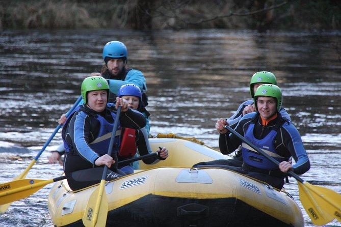 Edinburgh - Whitewater Rafting in Aberfeldy with Transport