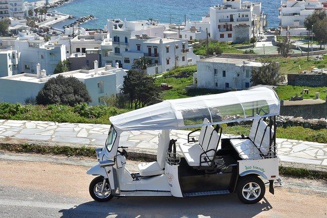 e-Tuk Mykonos Cosmopolitan Riviera VIP Tour