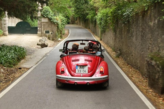 Private Lisbon, Sintra, Cascais Sightseeing and Food Tour by Convertible Beetle