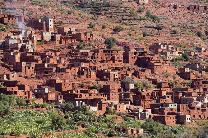 Day trip from Marrakech to Atlas Mountains including hiking and walking trek
