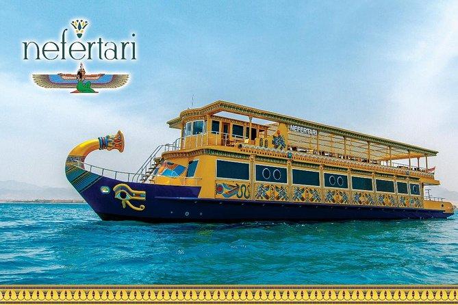 Nefertari seascope Boat & Semi Submarine Snorkeling Sea Trip - Marsa Alam