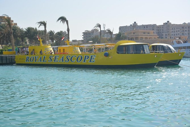 Sea Scope Semi Submarine - Marsa Alam
