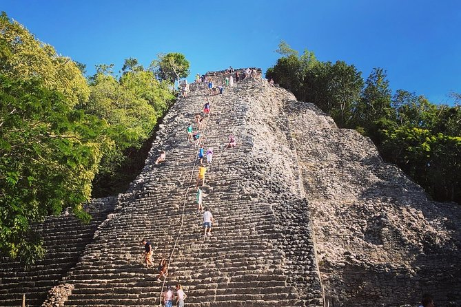 Coba and Tulum with Cenote Swim Regional Buffet and Transport from Cancun and RM