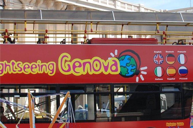 Excursão pelo litoral de Gênova: Tour em ônibus panorâmico pela cidade de Gênova