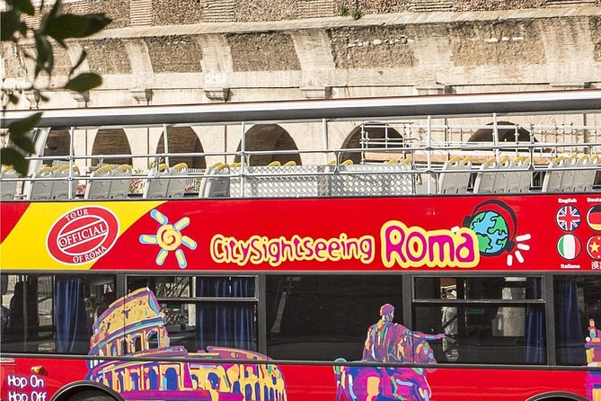 Rome Hop On Hop Off Sightseeing Tour