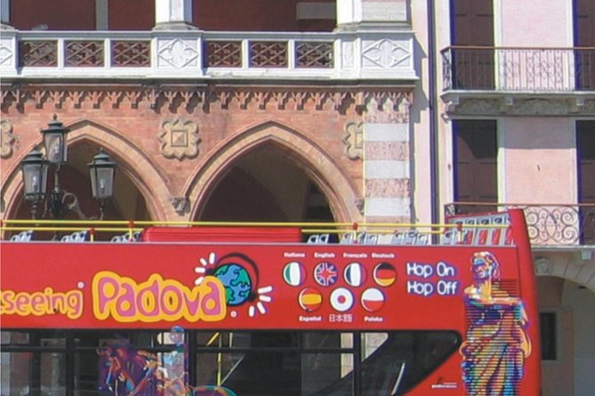Padua City Sightseeing Hop-On Hop-Off Tour