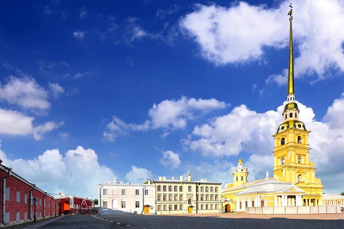 St Petersburg City Tour by Vehicle with Peter and Paul Fortress Visit