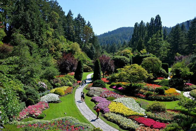 Vancouver to Victoria and Butchart Gardens Tour