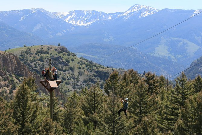Yellowstone Zipline EcoTour at the Ranch