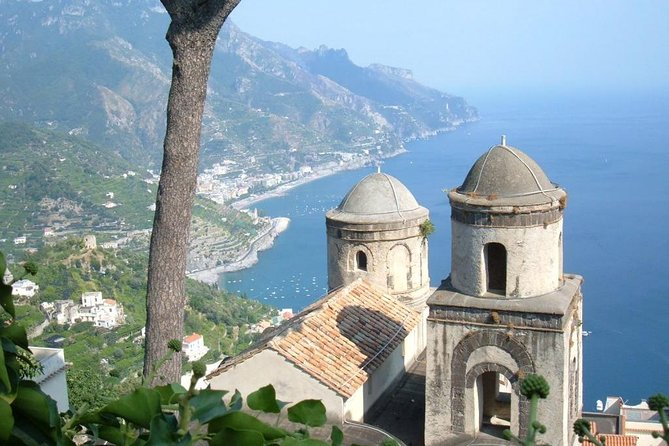 Transfer from Naples to Ravello with stop at Pompeii or Vice Versa