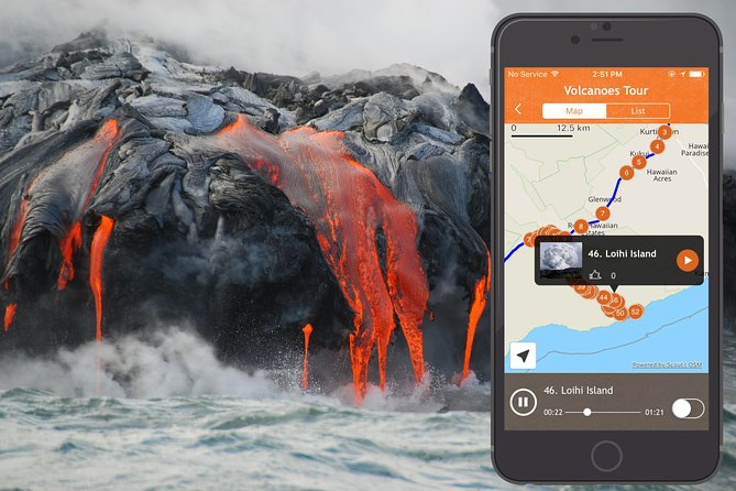 Hawaii Volcanoes National Park Driving Tour App