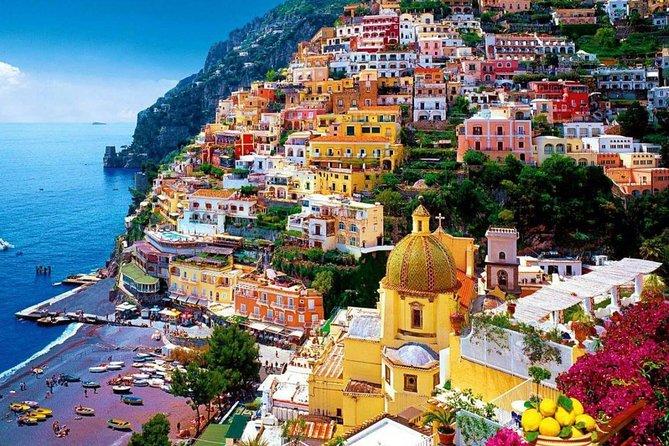 Transfer from Maiori or Praiano or Atrani or Amalfi to Naples