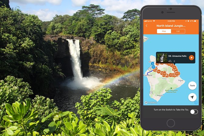 Big Island - Noordereiland Jungle Driving Tour App