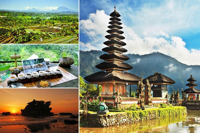 Private Full-Day Tour: Ulun Danu Beratan Temple, Jatiluwih and Tanah Lot Temple