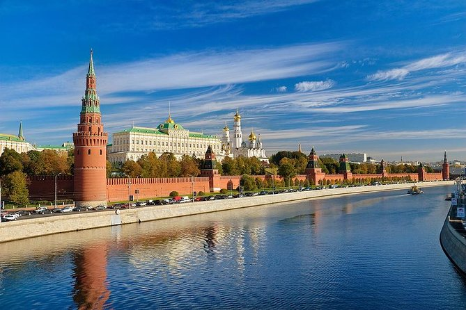 Moscow 4-hour Must-sees Car tour