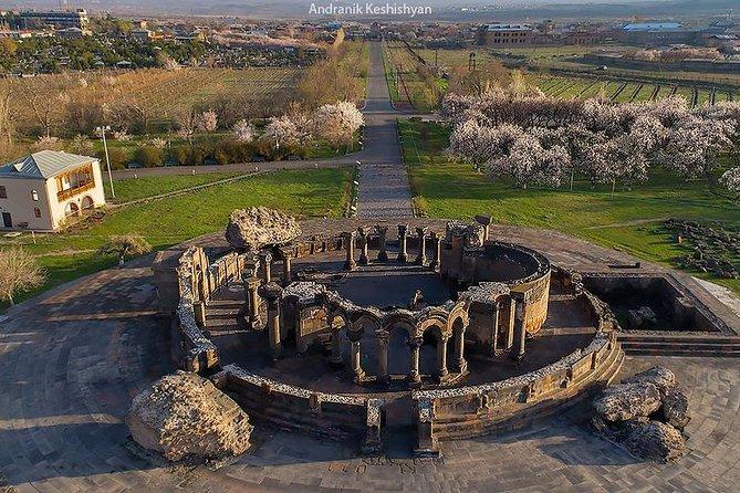 Spiritual Four of Armenia: Echmiadzin, Zvartnots, Garni, Geghard