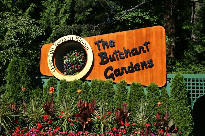 Private Butchart Gardens Tour