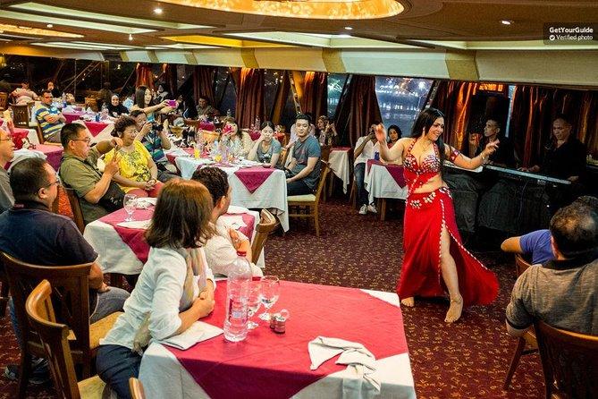 Cruzeiro com jantar no Nilo em cruzeiro de 5 estrelas do Cairo (o único)