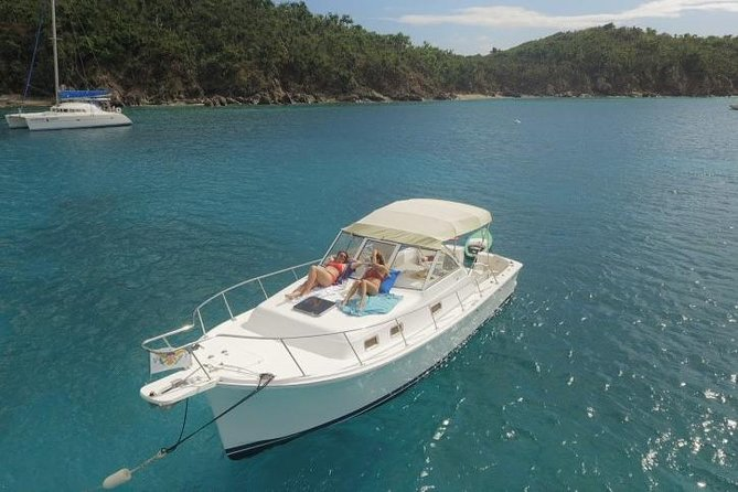 Private Yacht Charter - USVI & BVI from St Thomas or St John - Half or Full Day
