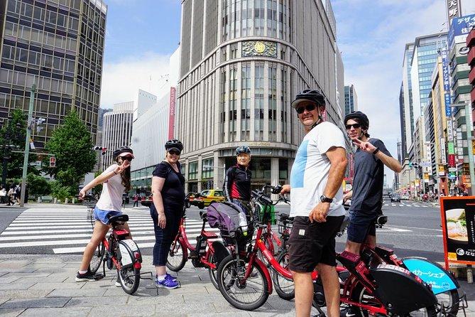 Enjoy local Tokyo E-bike tour, 3 hours of ride starts near Tokyo Station