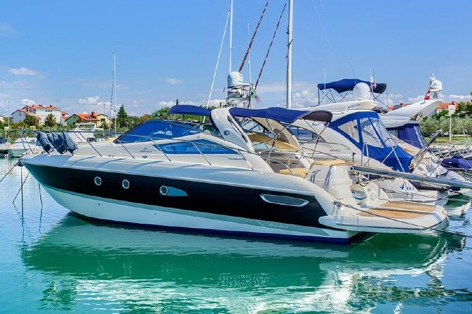 PRIVATE Blue Cave & 5 Islands Boat Excursion with LUXURY yacht Cranchi 43