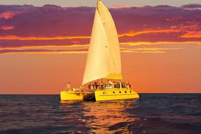 Fremantle Sunset Sail on WA's Iconic Yellow Catamaran