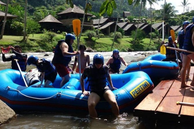 Bali Rafting With Transport and Bufet Lunch