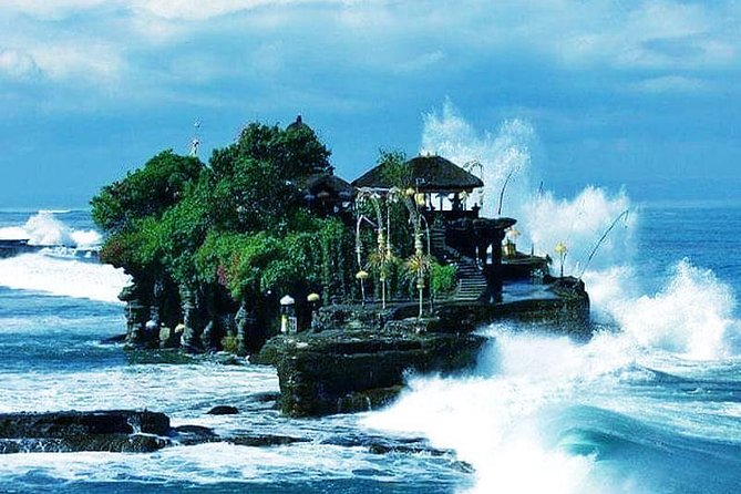 Bali Tanah Lot with Ubud Waterfall and Kecak Fire Dance Tour