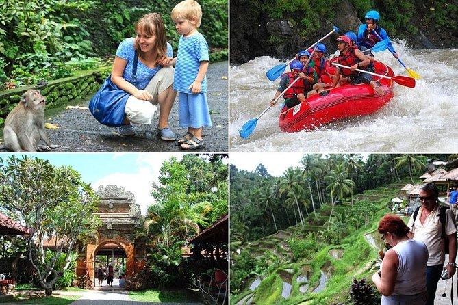 Ayung White Water Rafting and Ubud Art Village Tour : Bali Best One Day Trip