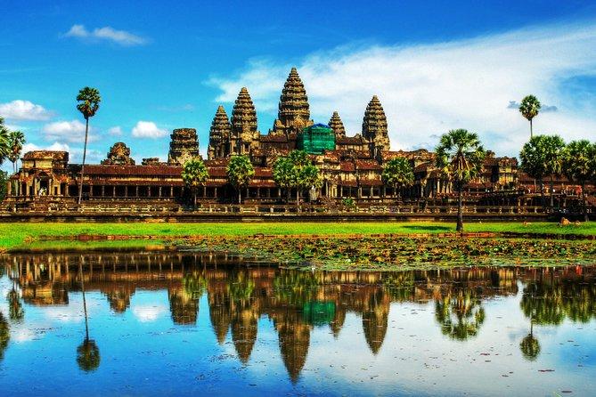 Cambodia - Temple and Beach