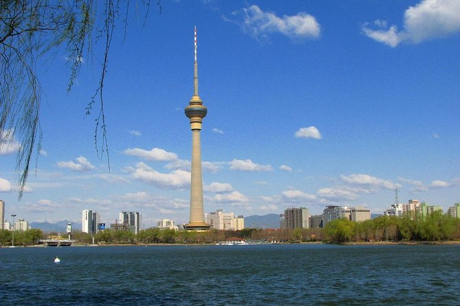 Private Tour: Beijing City Overview with Boat Ride and Buffet Dinner on Central TV Tower